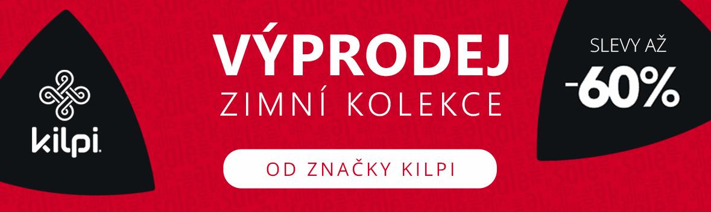 Výprodej zimní kolekce značky Kilpi