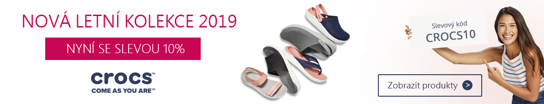 Sleva 10% na značkovou obuv CROCS