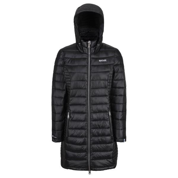 Dámský prošívaný kabát Regatta ANDEL černá