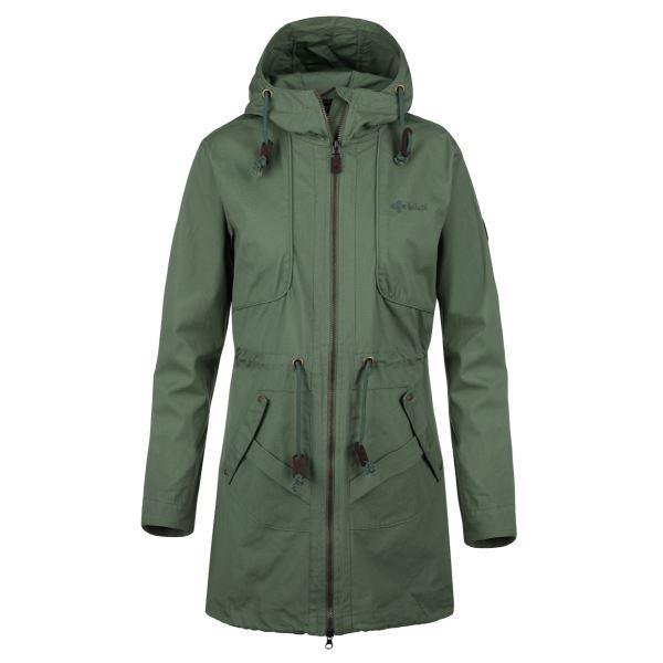 Dámský kabát KILPI PAU-W khaki
