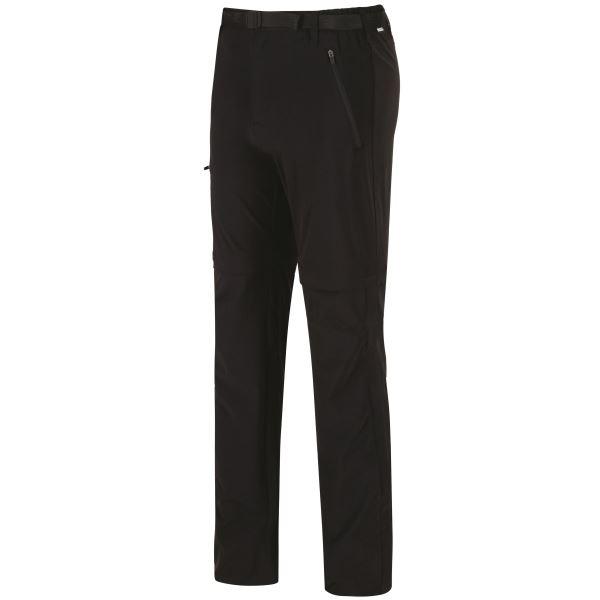 Pánské kalhoty Regatta XERT Str Z/O II černá