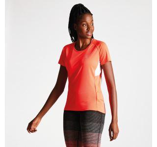 Dámské tričko Dare2b OSCILLATION oranžová