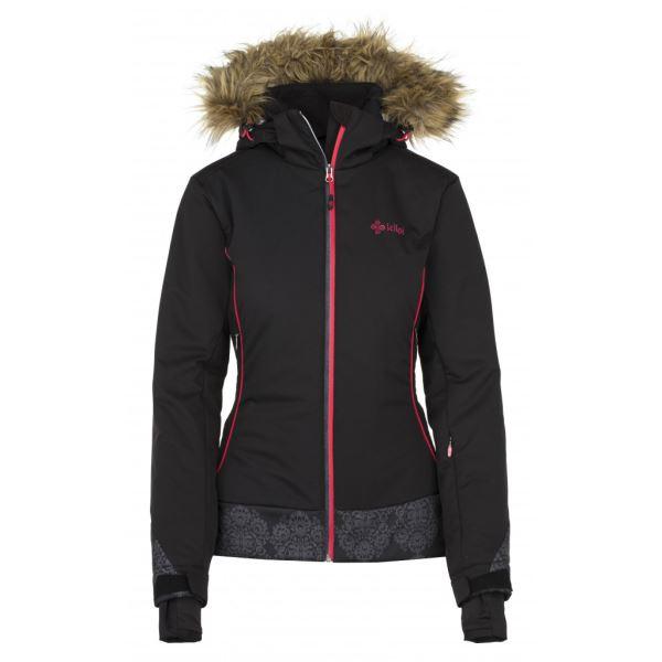 Dámská zimní bunda KILPI VERA-W černá