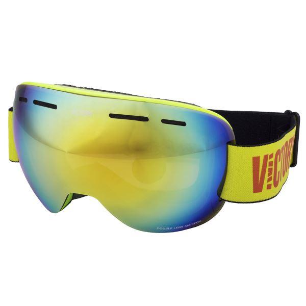 Unisex lyžařské brýle Victory SPV 615A zelená