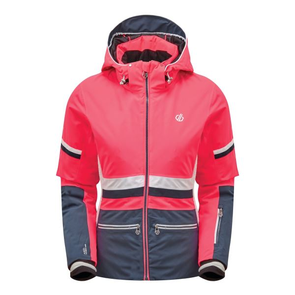Dámská zimní bunda Dare2b EVIDENCE tmavě modrá/růžová