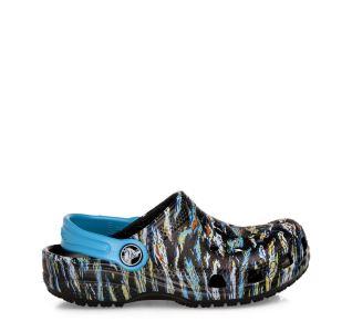 Dětské boty Crocs Kids' Classic  Graphic Clog černá