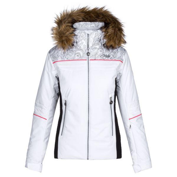 Dámská zimní lyžařská bunda KILPI HENESIE-W bílá