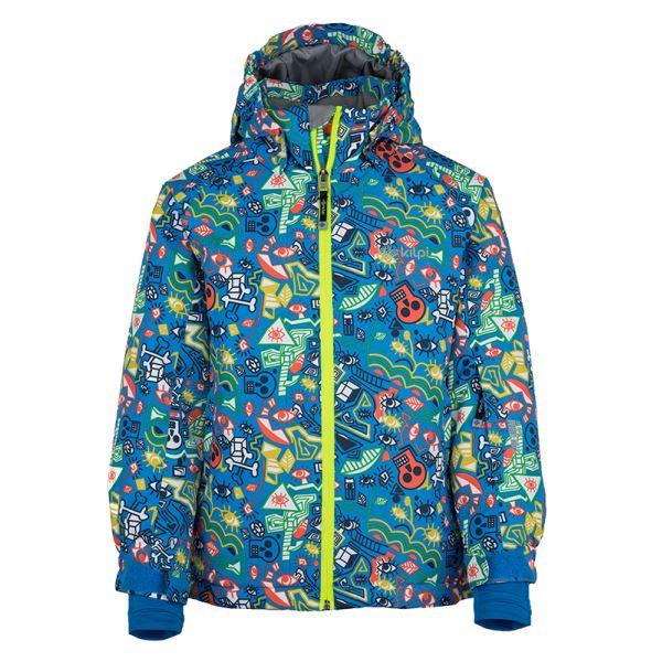 Dětská zimní bunda KILPI BENNY-JB modrá