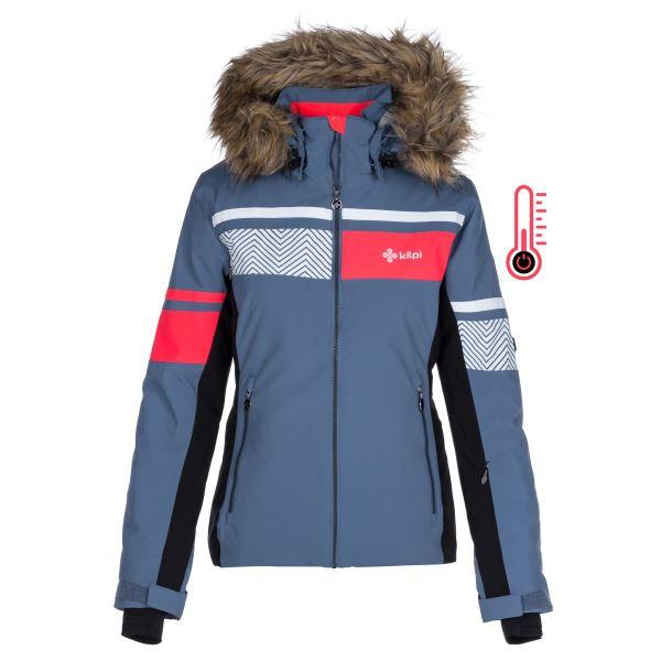 Dámská zimní lyžařská bunda KILPI ANIELA-W modrá
