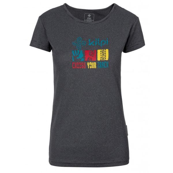 Dámské tričko KILPI GIACINTO-W tmavě šedá