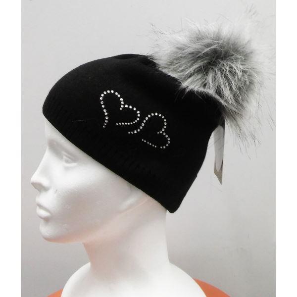 Dětská zimní čepice CAPU K 1741 černá