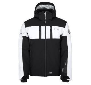Pánská lyžařská bunda KILPI FALCON-M černá (nadměrná velikost)