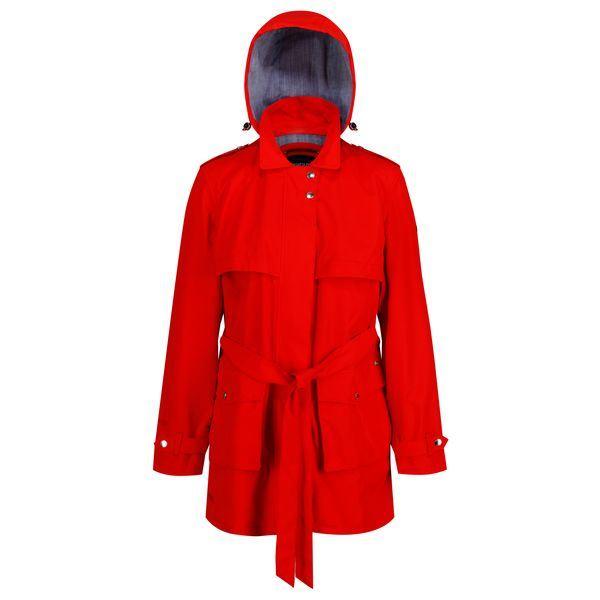 Dámský kabát Regatta GRIER ohnivě červená