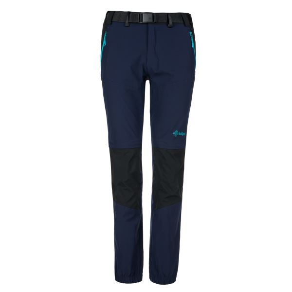 Dámské outdoorové kalhoty KILPI HOSIO-W tmavě modrá
