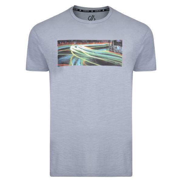 Pánské tričko Dare2b CONVERGE Tee šedá
