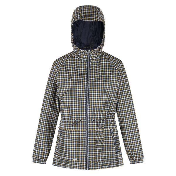 Dámský kabát Regatta BARBO modrá/žlutá