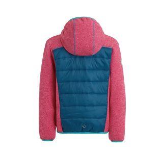 Dětská bunda Regatta KIELDER Hybrid III růžová/modrá