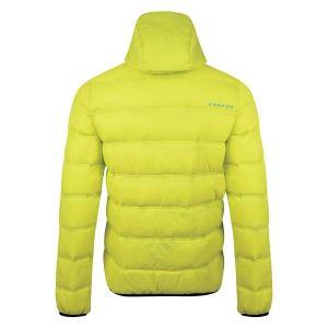 Pánská prošívaná bunda Dare2b DOWNTIME neonově zelená