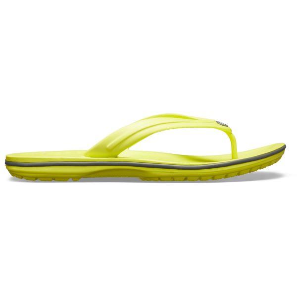 Unisex Crocs CROCBAND Flip Citrus žlutá/šedá