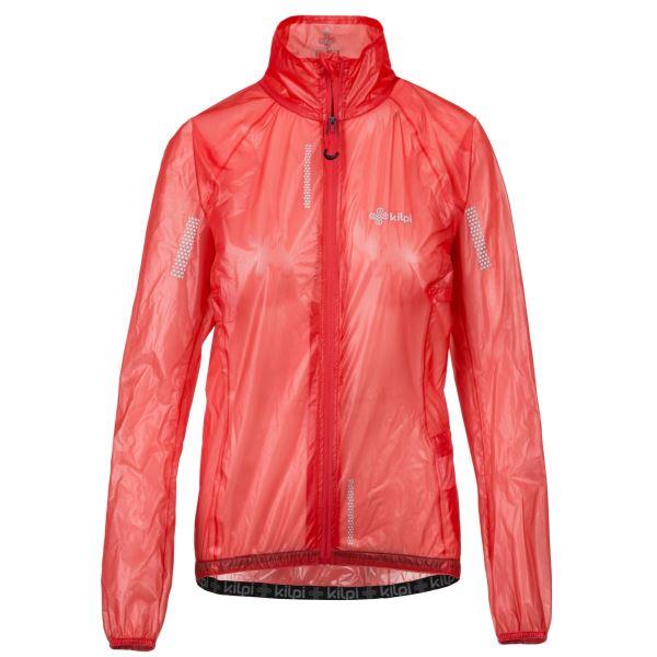 Dámská běžecká bunda KILPI RAINAR-W růžová