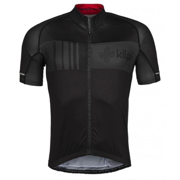 Pánský cyklistický dres KILPI CHASER-M černá