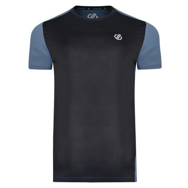 Pánské tričko Dare2b UNDERLIE černá/šedá