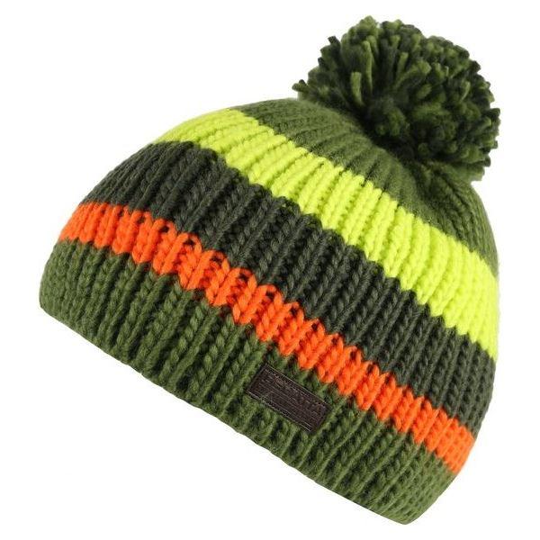 Dětská zimní čepice Regatta DAVIN zelená