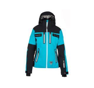 Dámská lyžařská bunda KILPI TEAM JACKET-W černá (kolekce 2019)