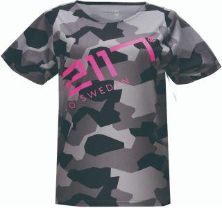Dámské tričko MTB 2117 KISA černá/růžová