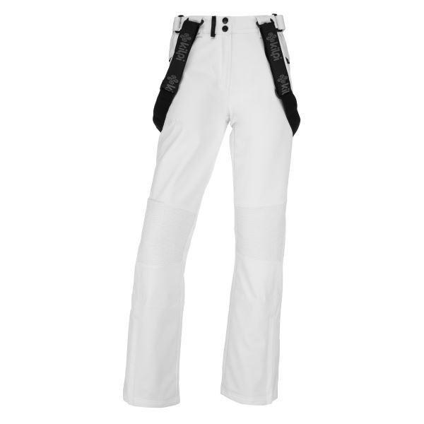 Dámské zimní softshellové kalhoty KILPI DIONE-W bílá