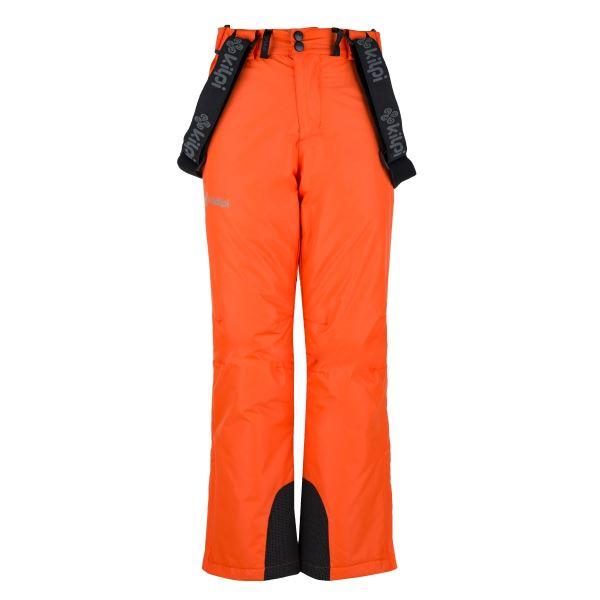 Dětské lyžařské kalhoty KILPI MIMAS-JB oranžová