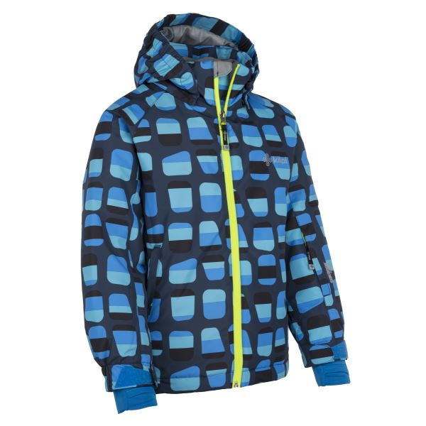 Dětská zimní bunda KILPI BENNY-JB tmavě modrá