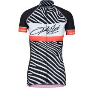 Dámský cyklistický dres KILPI WILD-W černá