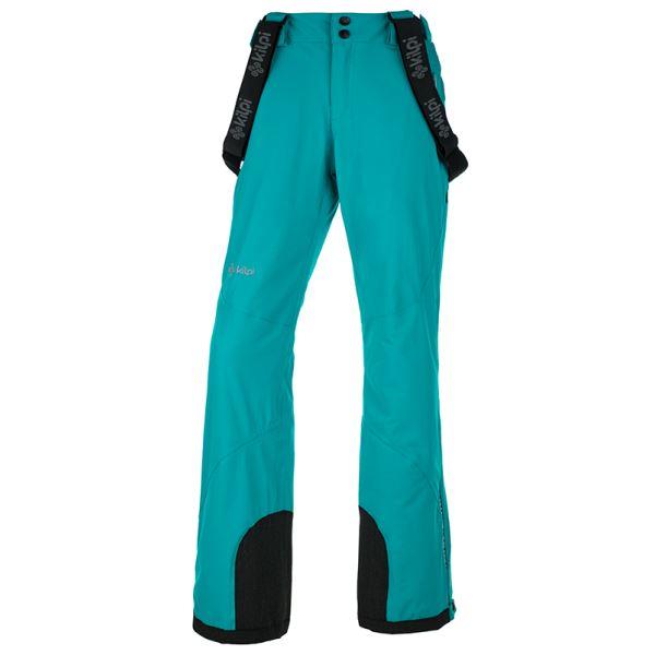 Dámské zimní technické kalhoty KILPI EUROPA-W tyrkysová