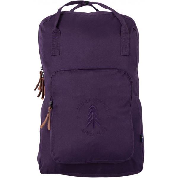 Unisex městský batoh 2117 STEVIK 27L fialová