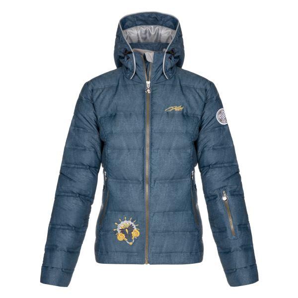 Dámská zimní lyžařská bunda KILPI MAILA-W modrá