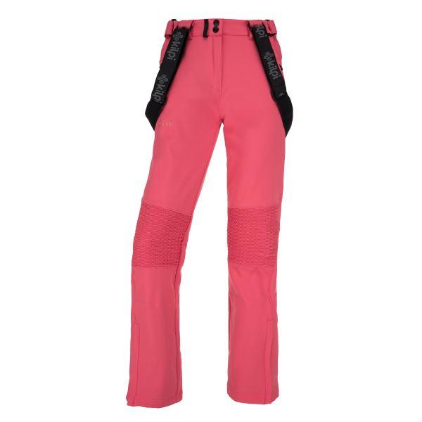 Dámské zimní softshellové kalhoty KILPI DIONE-W růžová
