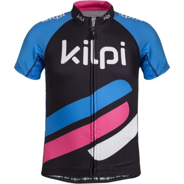 Dětský cyklistický dres KILPI CORRIDOR-JG modrá