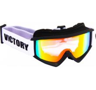 Dětské lyžařské brýle Victory SPV 620 černá/bílá