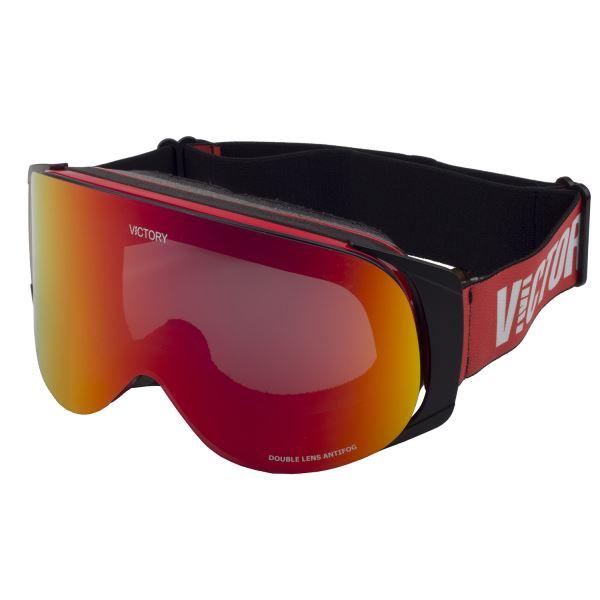 Lyžařské brýle Victory SPV 630A červená