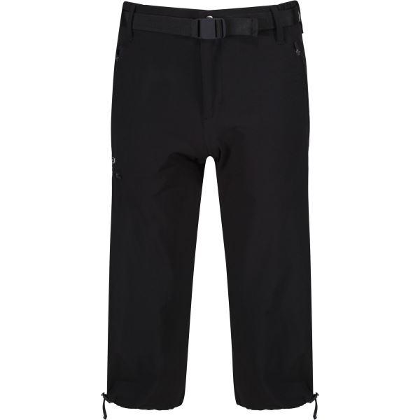 Pánské 3/4 kalhoty Regatta Xert Capri II Black černá