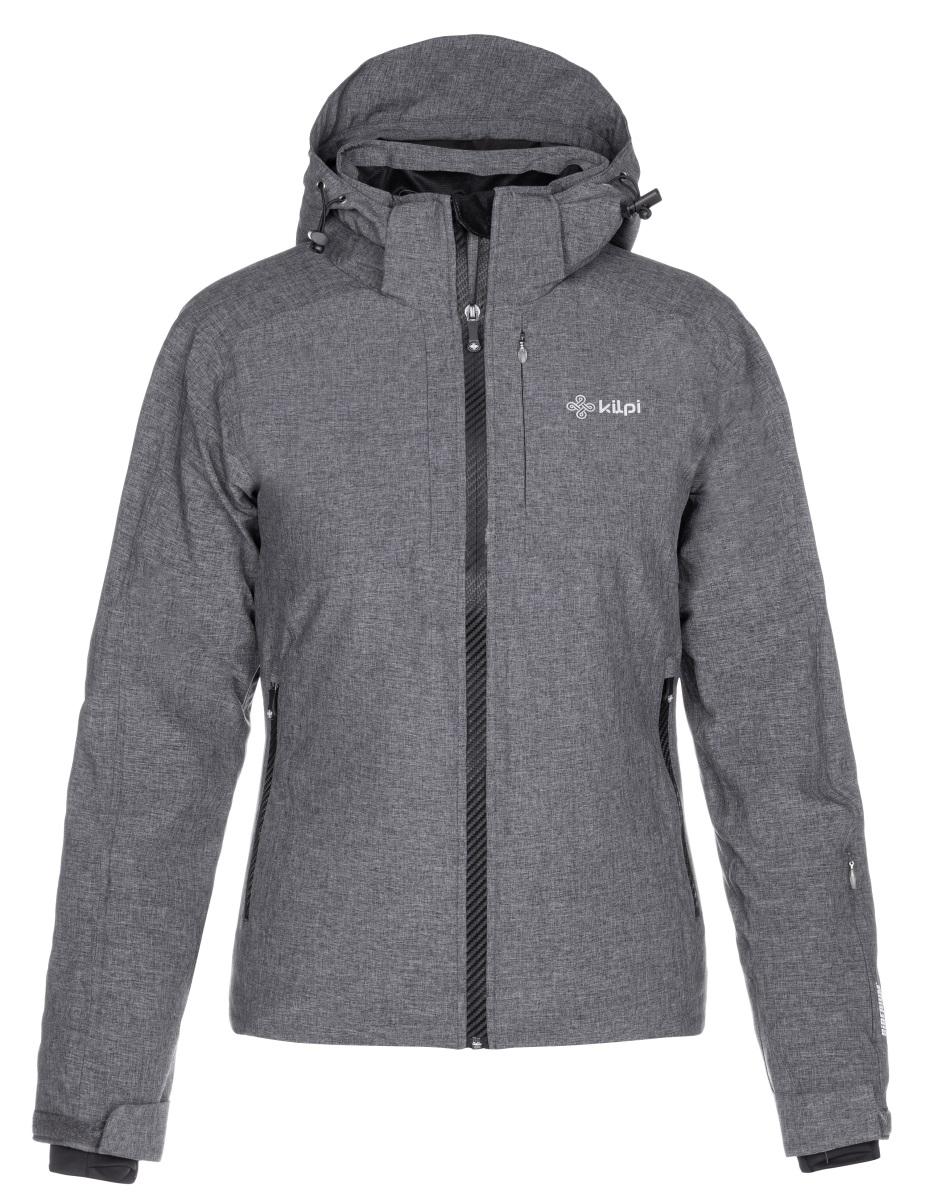 Levně Dámská zimní lyžařská bunda kilpi maania-w tmavě šedá 36