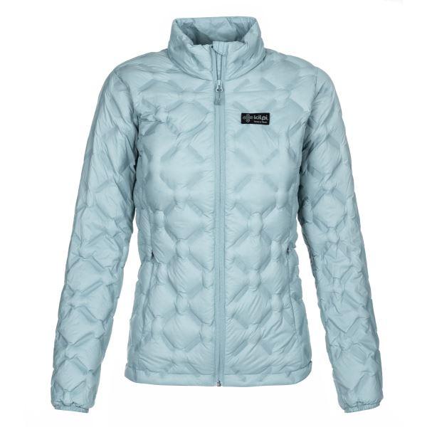 Dámská zimní péřová bunda KILPI PAPILON-W modrá