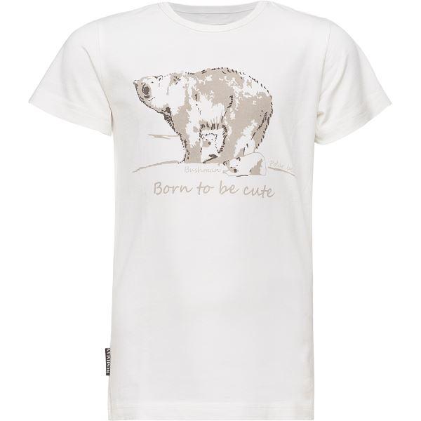 d4a65dfe138e Dětské tričko Bushman CHUCK krémově bílá 116