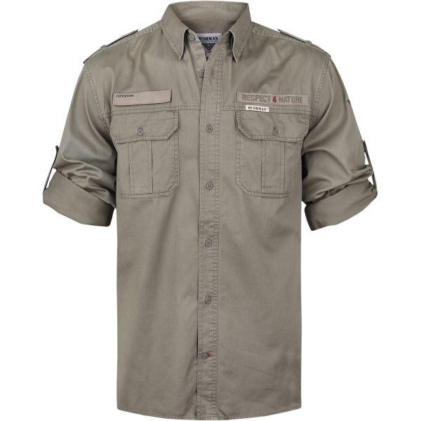 Pánská košile BUSHMAN Hammer khaki