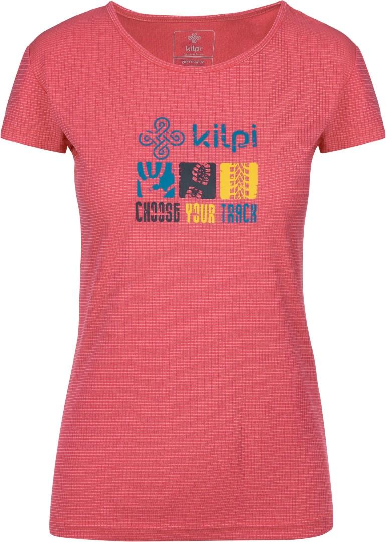 0dc0c3b56aa7 Dámské tričko KILPI GIACINTO-W růžová 42