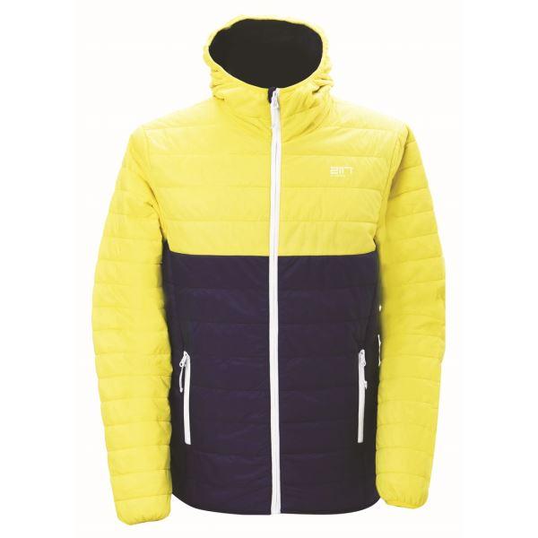 Pánská prošívaná bunda 2117 VALLERAS žlutá