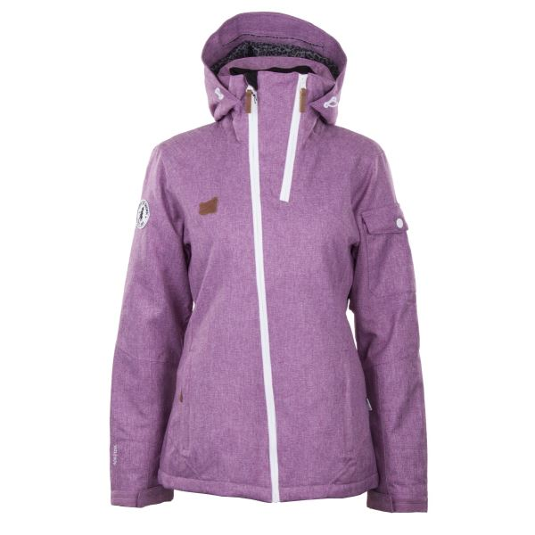 Dámská zimní lyžařská bunda 2117 BRAAS světlá fialová
