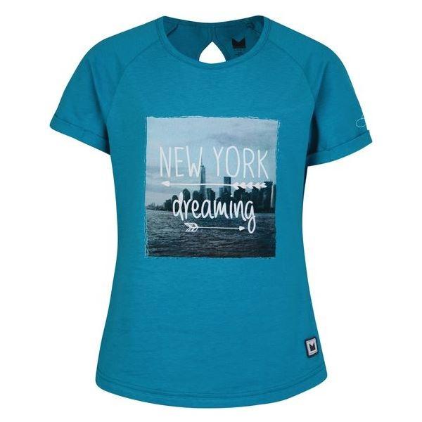 Dívčí tričko Dare2b CUT OUT modrá
