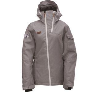 Dámská zimní lyžařská bunda 2117 BRAAS šedá